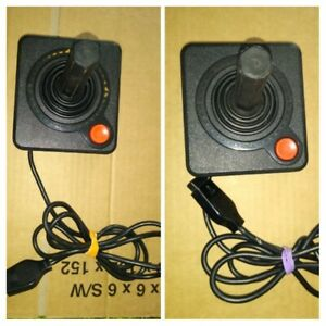 OFFICIAL ATARI 2600 7800 JOYSTICKS !TESTED ! MULTI PURCHASE DISCOUNTS AVAILABLE!