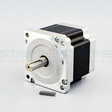 Stepper Motor Nema 34 CNC Router 4.5Nm(637oz.in) 5.5A Bipolar Stepper Mill Lathe
