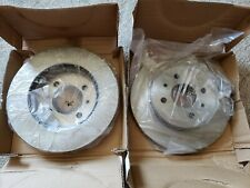 2 Power Stop AR 8238 Front Brake Rotors and 17-507 Ceramic Brake Pads