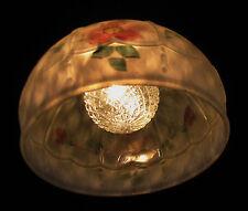 ART DECO ANTIQUE PENDANT SWAG GLASS SHADE SLIP CEILING LIGHT FIXTURE CHANDELIER