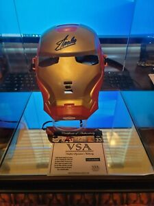 Stan Lee Signed Iron Man Mask with COA VSA Authentication