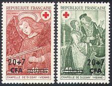 Reunion 1970 Red Cross/Angel/Medical/Health/Welfare/Surcharge 2v set (n27715)
