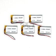 5PCS 3.7V 350 mAh Rechargeable Polymer Li-ion battery PCM li-po 052035 for  MP4