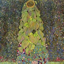 "Gustav Klimt, ""Sunflower"",  giclee open edition print"