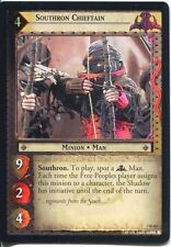 Lord Of The Rings Foil CCG Card RotK 7.R163 Southron Chieftain