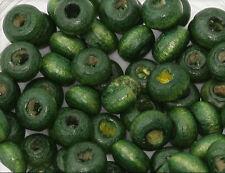 200x Holzperlen Kugel 3mm grün wb303