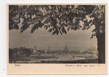 Dresden Blick Von Osten Germany RP Postcard 230a
