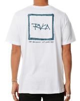 Men's RVCA Feelin' White Surf Shirt / Tee. Size L. NWT, RRP $49.99.