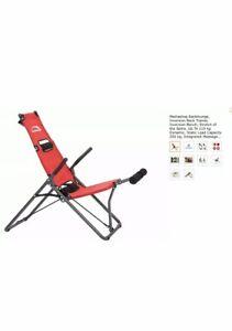 Mediashop Backlounge Inversion Chair Table Back Stretcher BNIB