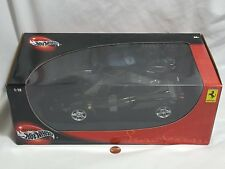 NEW Hot Wheels 1:18 Scale Black Ferrari Enzo SEALED Officially Licensed Car 2002