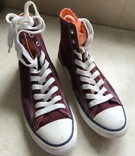Superdry Mens Red Trophy Series High Tops - Size 8 Burgandy Orange Red Shoes