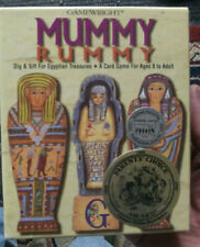 Come Home to Mummy Rummy Gamewright Archaeology Egyptian Treasures Card Game