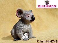 Bullyland KOALA solid plastic toy wild zoo Australian tree animal * NEW *💥