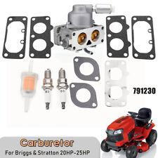 Carburetor Carb For Briggs & Stratton 20HP-25HP V-Twin Engine 791230 445577