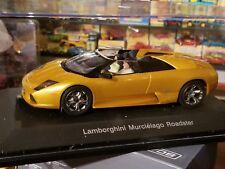 AutoArt SLOT Car 1:24 Lamborghini Murcielago ROADSTER Gold Lighting Lamps NEW