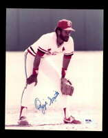 Ozzie Smith PSA DNA Coa Hand Signed 8x10 Cardinals Photo Autograph