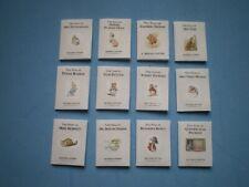 Dolls House miniatures - Beatrix Potter books x 12