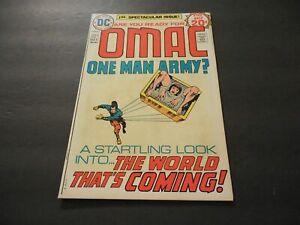 Omac #1 Oct 1974 Bronze Age DC Comics Jack Kirby Art & Story             ID:7969