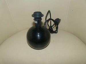 lampe ELECTRIQUE de chevet noire E14 MAX 40 W
