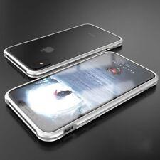 Premium Metall Schock Bumper Silber für Apple iPhone X / XS Tasche Hülle Case