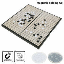 Go Board Game Set Magnetic Portable Folding Strategy Board Game Weiqi AU HOT