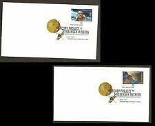 US 4527-4528 Mercury MESSENGER (set of 2) DCP FDC 2011