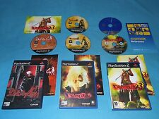 DEVIL MAY CRY Vol.1 & 2 & 3   game bundle for PS2 PAL*GC*Complete