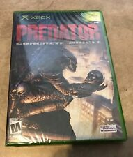Predator Concrete Jungle NEW factory sealed for Original Xbox