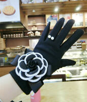 New women Cashmere gloves winter designer Warm Touch Screen Gloves Mittens HOT