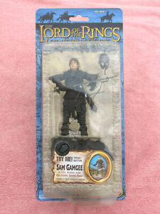 LORD OF THE RINGS: 'SAM GAMGEE IN ORC ARMOUR' - TOYBIZ - BOXED - FACTORY SEALED