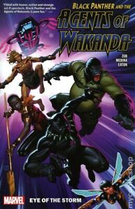 Black Panther and the Agents of Wakanda TPB #1-1ST VF 2020 Stock Image