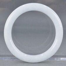 Fine Old Chinese Carved Celadon Hard Stone Bangle Bracelet