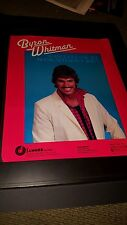 Byron Whitman Can't Get Use To Being Without You Rare Promo Poster Ad Framed!