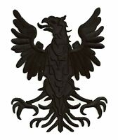 Ecusson Aigle medieval blason armoirie moyen medium thermocollant patche