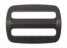 10 St. Schieber Stopper 25mm Acetal für Gurtband, Regulator POM Verstellschieber