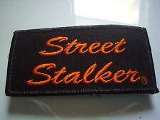 STREET STALKER Harley Davidson Motorcycle Patch Factory Jacket Badge Dealership