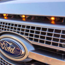 For Ford SVT LED Amber Grille Raptor Style Lighting Kit, Universal Fit Truck SUV