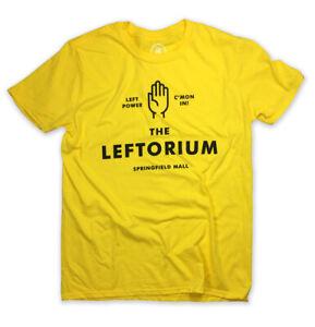 The Leftorium T-Shirt! LEFT POWER Ned Flanders inspired tee. springfield mall