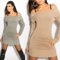 Women's Off The Shoulder Sweater with Zippers - One Size (S/M/L)