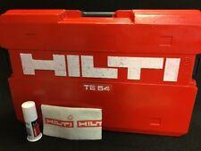 Hilti Te 54 Case (Only Case), Preowned, Original, Free Hilti Grease, Fast Ship