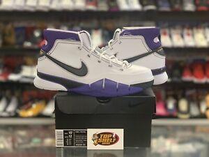 DS NEW Nike Kobe Bryant 1 Protro 81 Points VTG Vintage White Purple