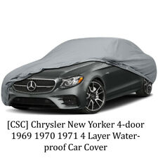 [CSC] Chrysler New Yorker 4-door 1969 1970 1971 4 Layer Waterproof Car Cover