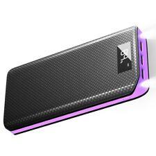 X-Dragon Purple 20000mAh Power Bank External Battery Portable Phone Charger USB