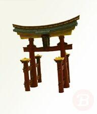 Rosewood Japanese Torii Gate Aquarium Ornament