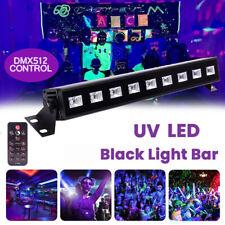 UV 27W LED Lichtleiste DMX Schwarzlicht Disco Bar Bühnenbeleuchtung Lichteffekte