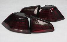 LED BAR HECKLEUCHTEN für VW GOLF VII 7 LIMO ROT SMOKE LIGHTBAR 4 TEILE TÜV-FREI