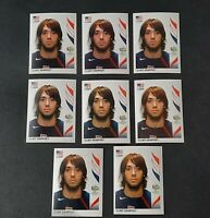 8x LOT CLINT DEMPSEY ROOKIE RC STICKERS USA World Cup Germany 2006 INVEST