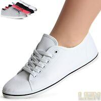 Damenschuhe Leichte Sneaker Turnschuhe Freizeitschuhe Loafer Basic Trendy
