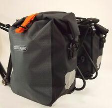 Ortlieb Gravel-Pack Waterproof Bicycle Panniers, Slate, PAIR