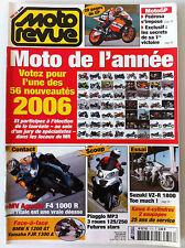 MOTO REVUE n°3713 du 05/2006; MV Agusta F4 1000 R/ Suzuki VZ-R 1800/ Piaggio MP3
